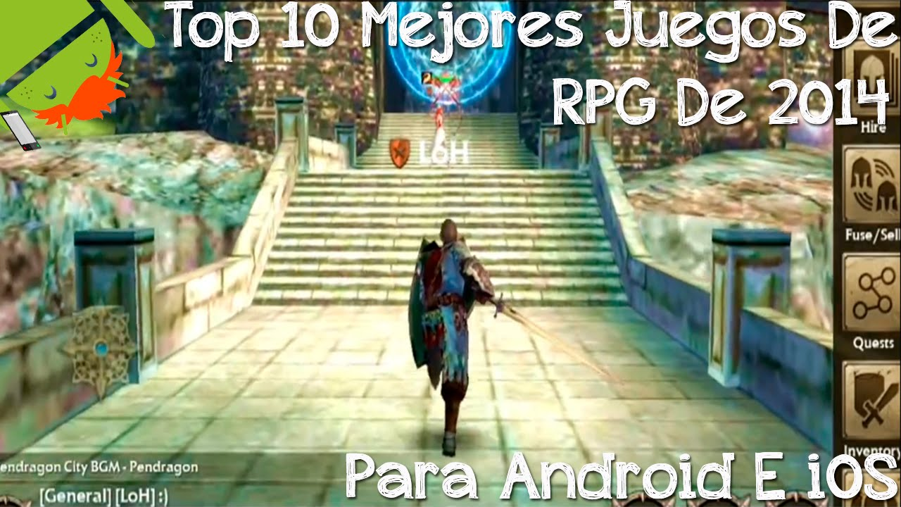 Top 10 Mejores Juegos Rpg De 2014 Para Android Cesargbtutoriales