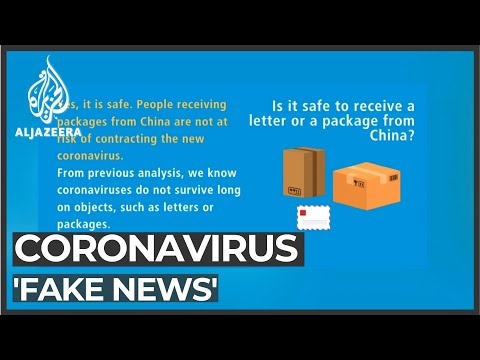 WHO concerned over coronavirus 'infodemic'