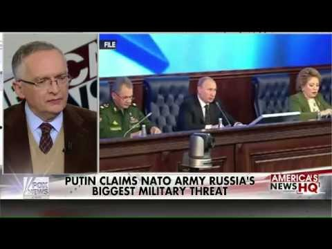 Putin Names NATO and the United States as Russia's Biggest Military Threat