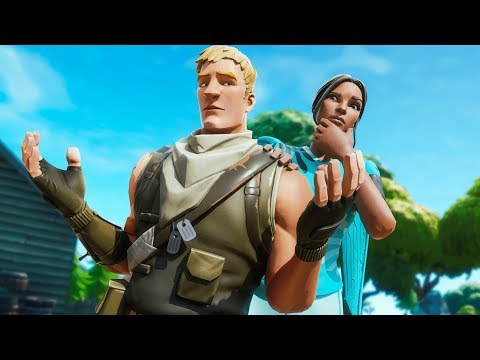 This kid pretended he didn't know me... (Fortnite Random Duos)