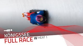 KÖnigssee | BMW IBSF World Cup 2019/2020 - Women's Skeleton Heat 1 | IBSF Official