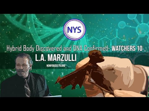 L.A. Marzulli- Hybrid body discovered and DNA confirmed- Watchers 10