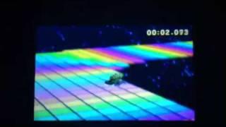 Mario Kart 7 Retro Rainbow Road Former World Record