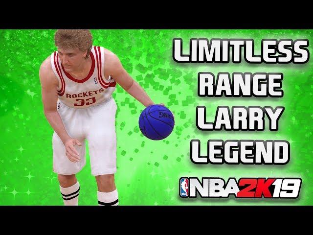 NBA 2K19 MyTeam - Limitless Range Larry Legend Bird - JV Squad