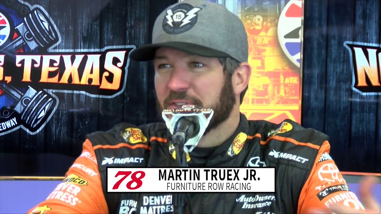Reigning champion Truex Jr. breaks down why testing is important