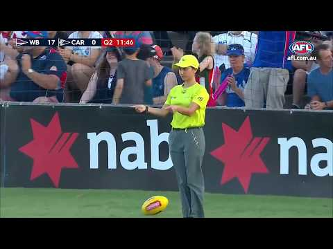 The 10 - Best Moments of 2018 AFLW Season