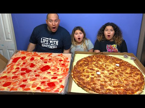 DIY WORLDS LARGEST SLIME PIZZA - MAKING 3 GALLONS OF SLIME