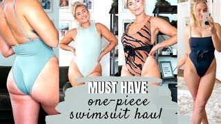 MUST HAVE One Piece Swimsuit's of 2019: TRY ON HAUL