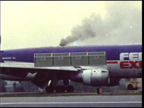 Fire on Board FedEx Flight 1406 - September 5, 1996