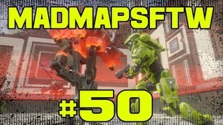 MadMapsFTW - Halo 4 Forge Maps: Ep 50 Romper Stompers w/RecklessRi1ey