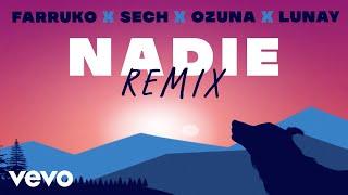 Farruko, Ozuna, Lunay - Nadie Remix - Lyric Video Ft. Sech, Sharo Towers