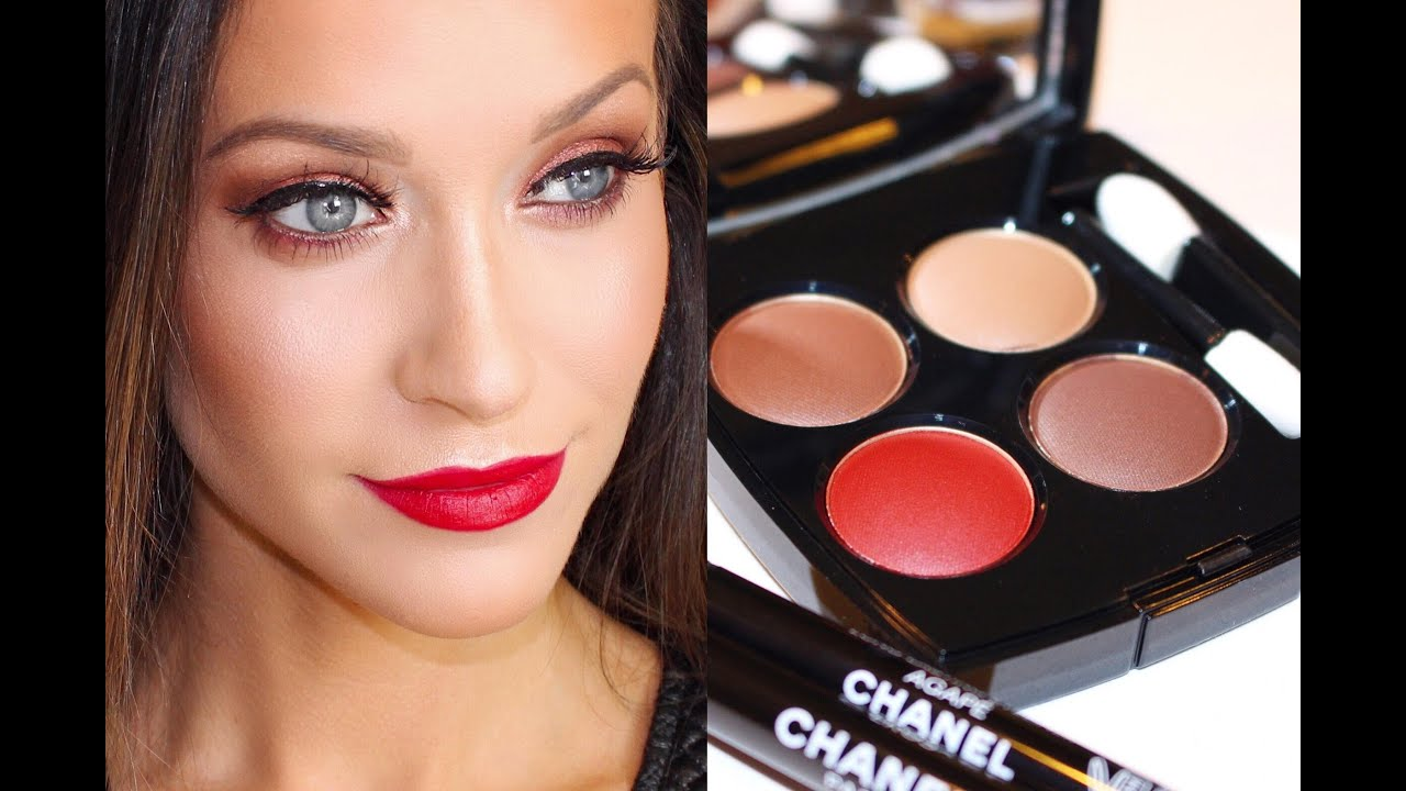 How To Use Le Rouge Collection N1 By Chanel Eyeshadows & My Review