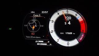 Lexus ES 350 F Sport - дефорсаж! Разгон 0 -100