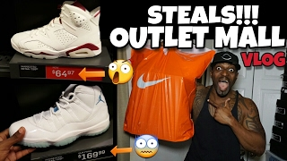 THE BEST NIKE OUTLET MALL VLOG EVER | 2 HEAT PICKUPS FOR UNDER RETAIL