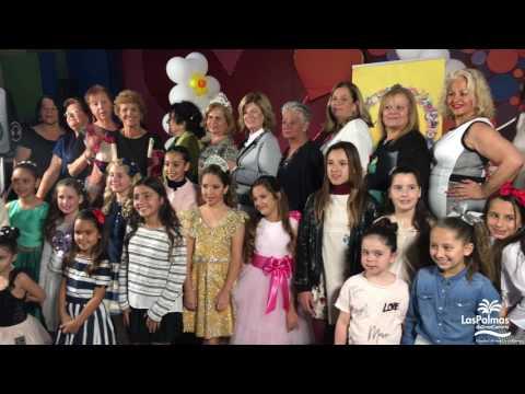 Candidatas a Reina Infantil y Gran Dama del Carnaval de Las Palmas de Gran Canaria