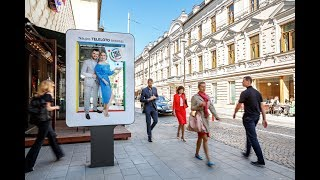 Teleloto turns billboards into lottery machines | JCDecaux Lithuania