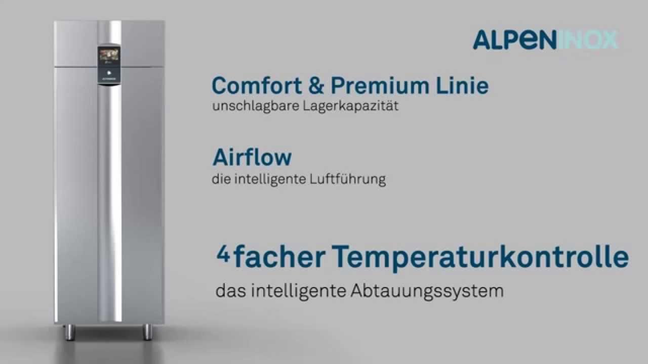 ALPENINOX: Comfort & Premium Linie Kühl- und Tiefkühlschränke - YouTube