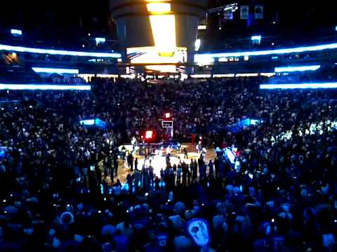 Orlando Magic Intro Playoffs Game 1 2011