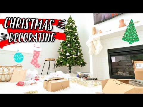 DECORATING FOR CHRISTMAS IN OUR NEW HOUSE!