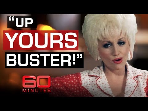Reporter Asks Dolly Parton Her Breast Size | 60 Minutes Australia