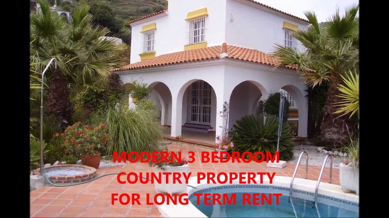 House To Rent | 3 Bedroom Country House To Rent Long Term In Torrox,  Malaga, Spain