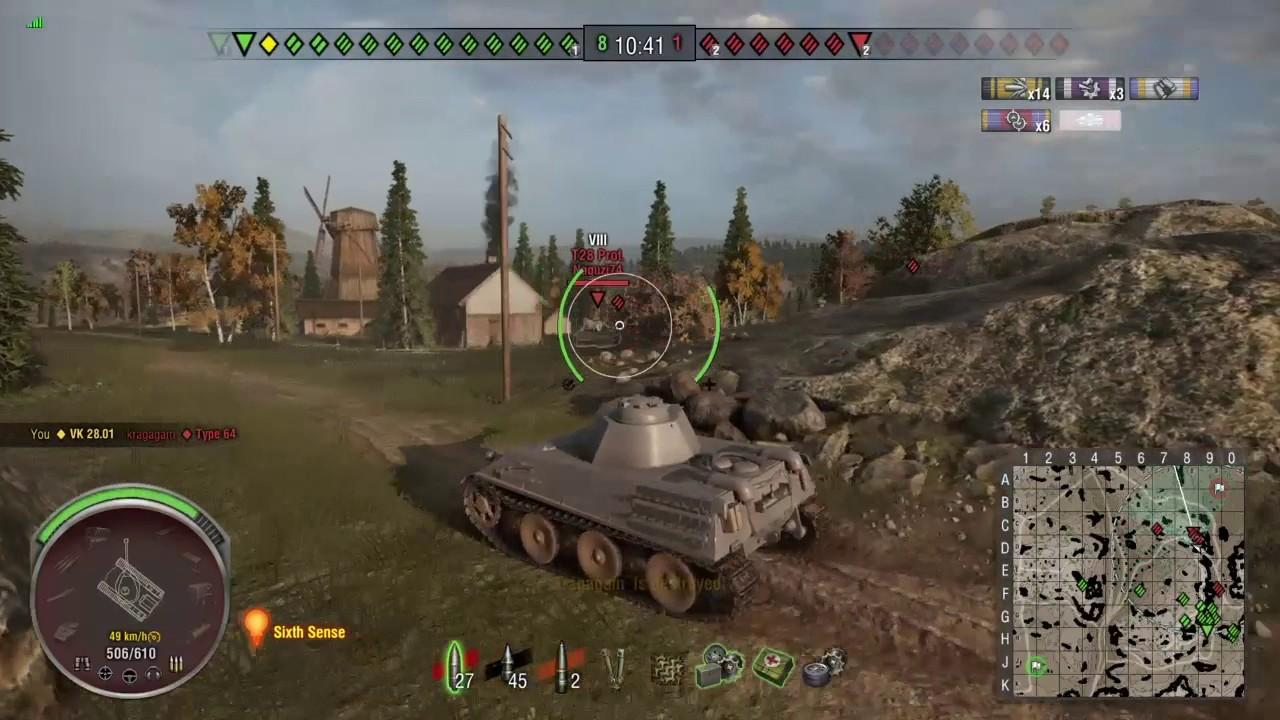 883f5f39b977d World Of Tanks - Ps4 - VK28.01 - Dukla Pass - Ace Tanker - YouTube