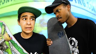 LEGENDARY MINI RAMP BATTLE! Nigel vs Carlos