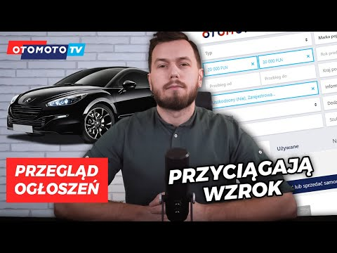 Oryginalne modele do 30000zł   Przegląd Ogłoszeń OTOMOTO TV