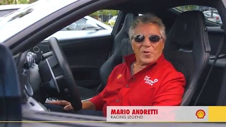 Mario Andretti and Sugar Ray Leonard hit the road from Vegas to LA.