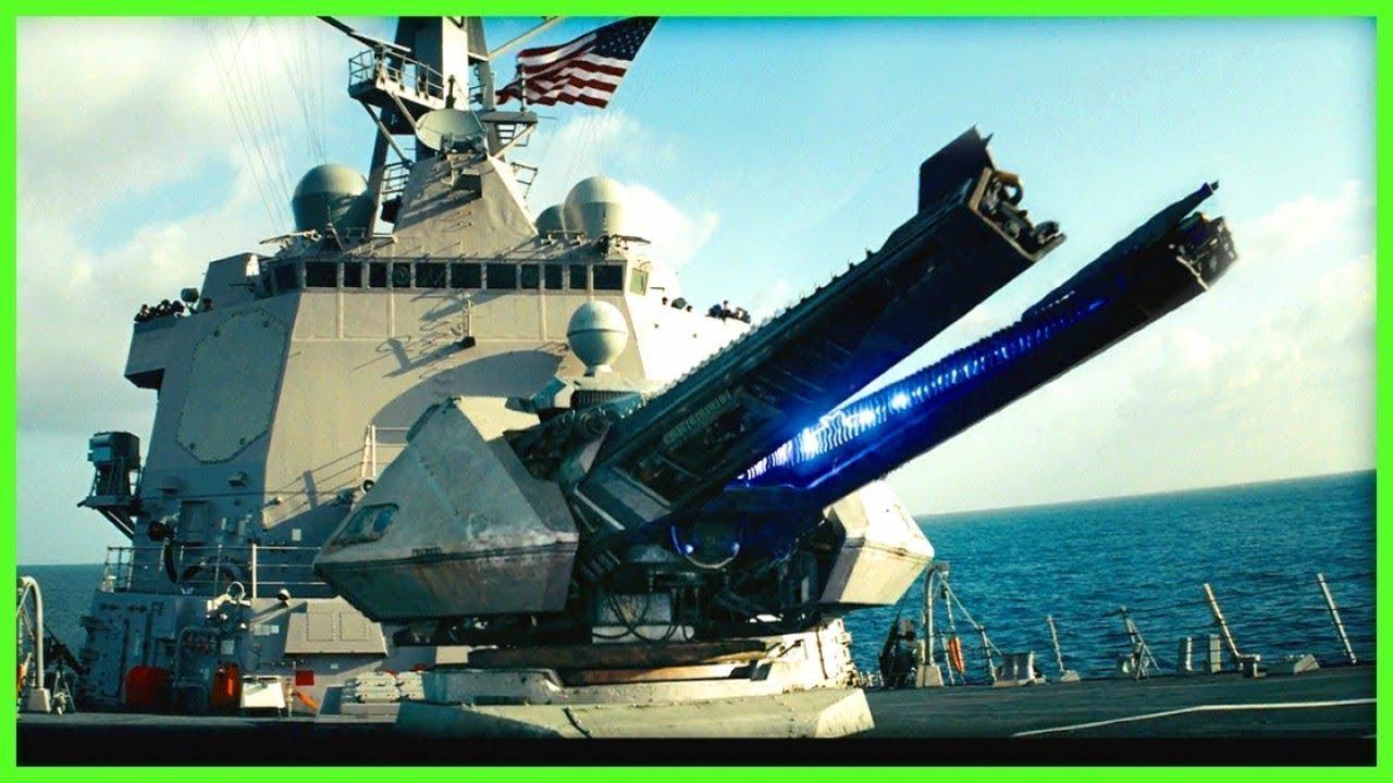 Korea Auto Show >> U.S. NAVY Electromagnetc RAILGUN Mach 7 Fire Tests | 20... | Doovi