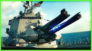 Download U.S. NAVY Electromagnetc RAILGUN Mach 7 Fire Tests   2008-2017 Mp3 and Videos