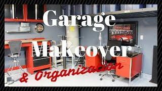 Garage Makeover & Organization