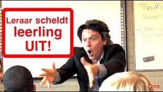 LERAAR SCHELDT LEERLING UIT!!
