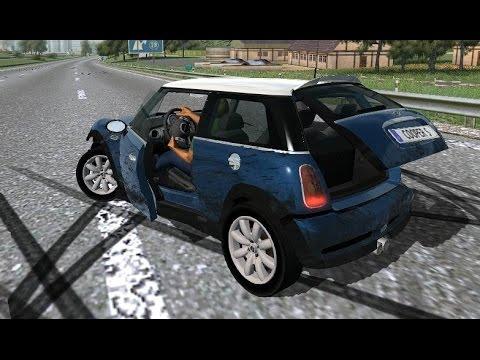 Mini Cooper S 03 Drive And Crash Test Links Wr2