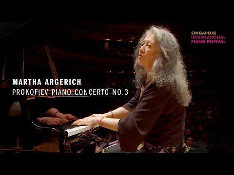 Martha Argerich Plays Prokofiev Piano Concerto No.3 | Singapore International Piano Festival 2018