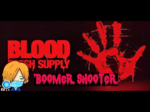 Boomer Shooter Blood Fresh Supply First Minutes Gameplay |