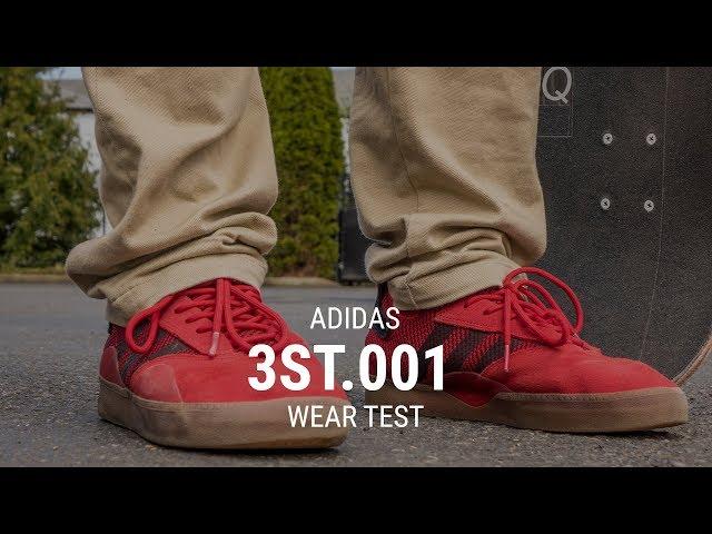6f82a65435cf Adidas 3st.001 Skate Shoes Wear Test Review – Tactics.com