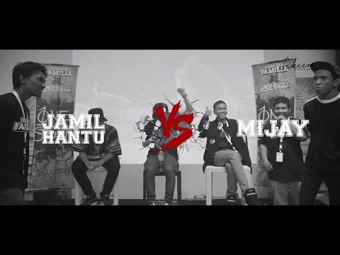 Lawalah X Underboss - Rap Battle - Jamil Hantu VS Mijay