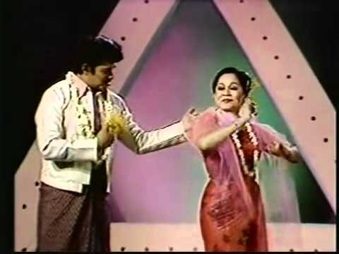Myanmar ThinGyan Song by Win Oo with Nwe Nwe San                    YouTube