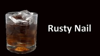 Rusty Nail Cocktail Drink Recipe