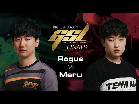 Rogue vs Maru - 2021 GSL Season 1 - Map 5