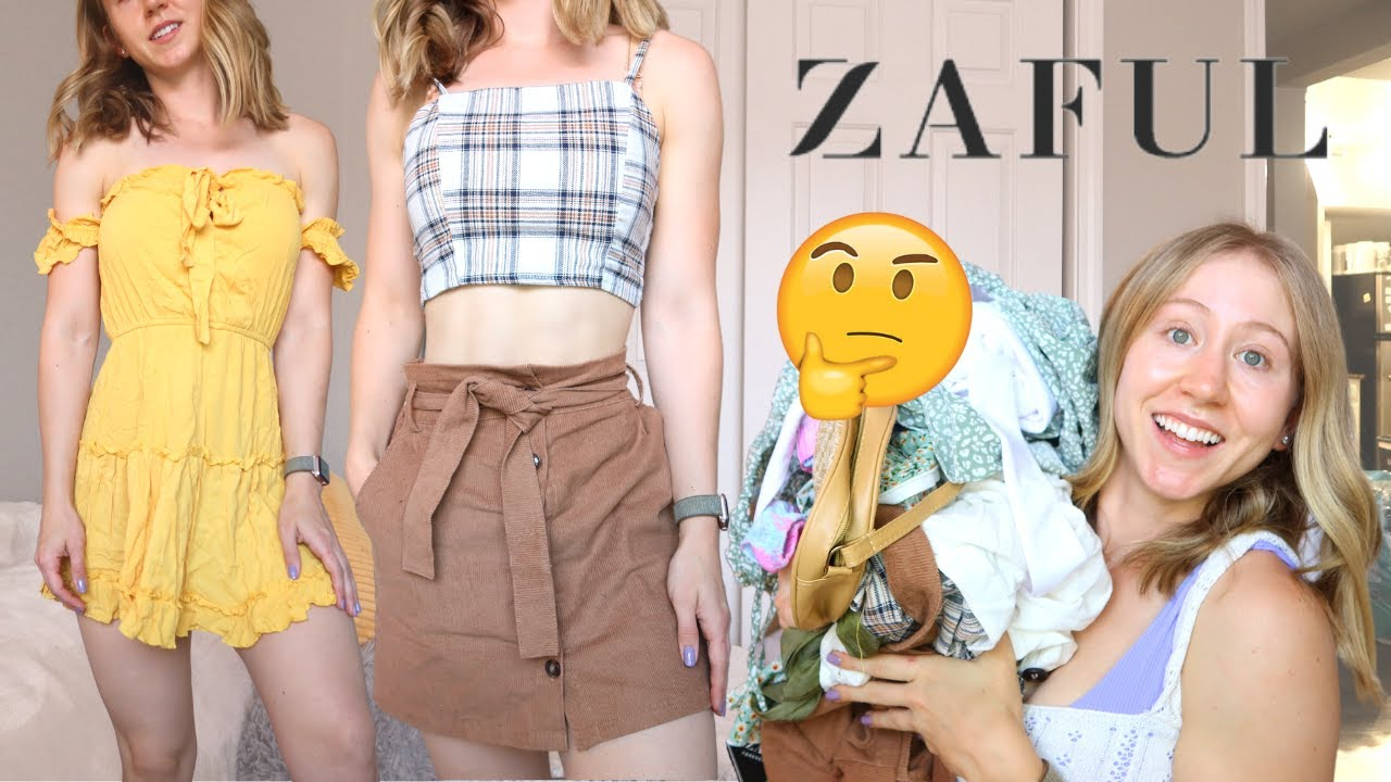 HUGE $300 Zaful Try on Haul and Review!