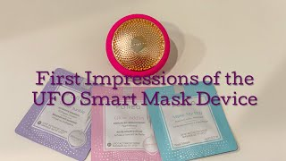 First Impressions of the FOREO UFO Smart Mask Device