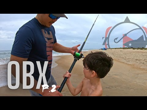 SURF Fishing The OUTER BANKS!! (Chuckin The 13 Footers)