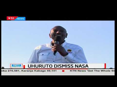 DP Ruto and President Uhuru dismiss NASA's announcement as a ploy to create jobs for its leaders