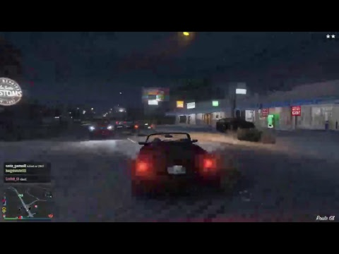GTA 5 Online With Lil Pump, Post malone, And other