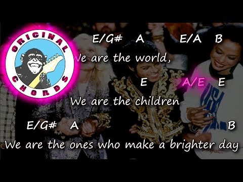 Usa For Africa - We Are The World - Chords & Lyrics