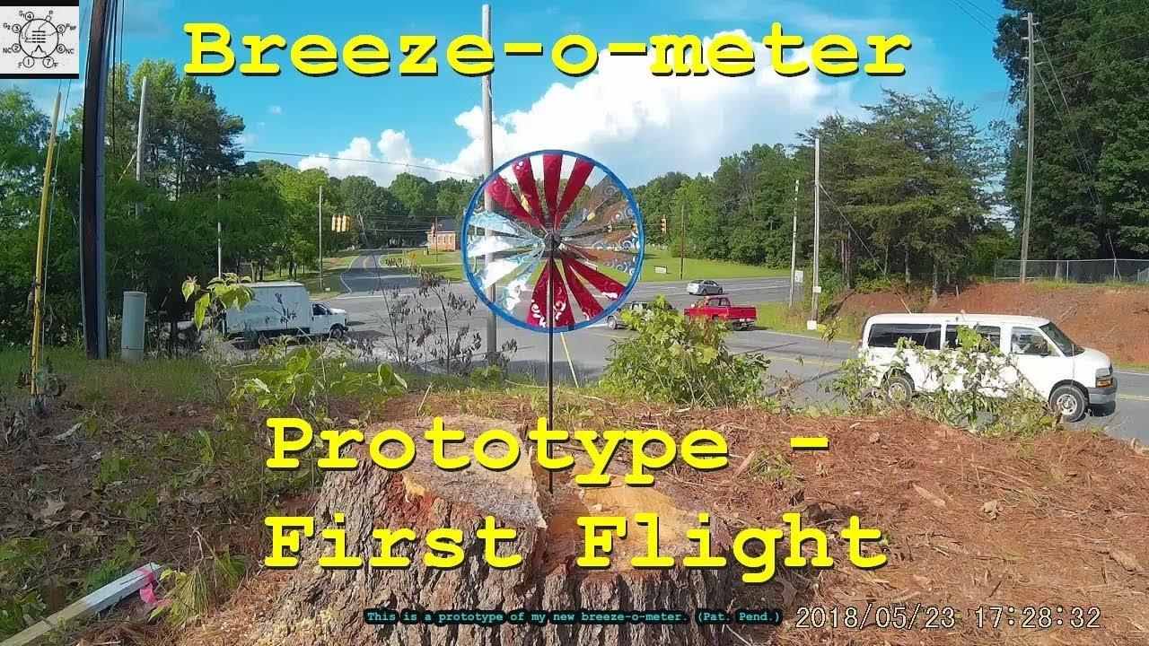 breeze o meter prototype first flight youtube