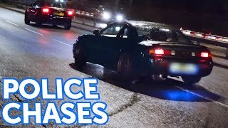 POLICE Chase DRIFTERS! - Leaving a Car Show
