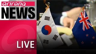 [LIVE/NEWS] President Moon Jae-in and New Zealand PM Jacinda Ardin agree...